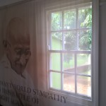 In the Gandhi's home